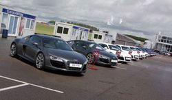 Amanda was a Team Leader at Silverstone on Audi R8 V10 launch