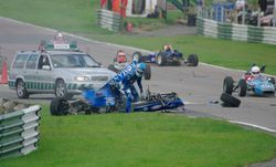 Mallory Park Crash 4 - Copyright Andy Newman 07826 892490