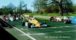 Pole position at Oulton Park