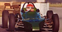Dad in his Formula Ford