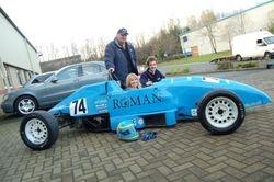 Amanda, Dad Ronnie & Partner Anthony