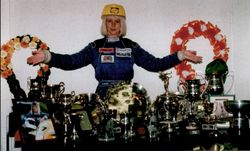 1998 all the trophies I won - in one year!