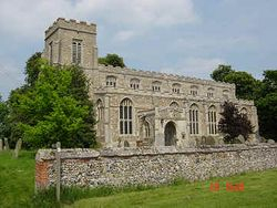 St Nicholas' Church , Denston, Suffolk