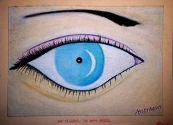 Eye of Selene, the Moon Goddess