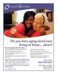 Agape at Home Flyer