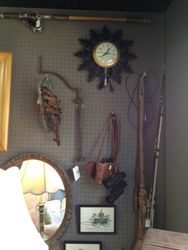 Old tools & clocks