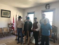 Gallatin Lodge 6 WM and PM's at Bannack
