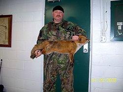Jon with Red Fox - NJH Predator Hunting Contest