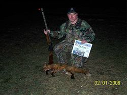 Jon with another Red Fox for NJH Contest
