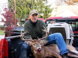 Brian with yet another nice buck...