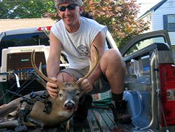 Brian's with another nice buck...