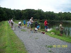 BSA Troop 33 Shooting & Fishing Event - 2008