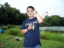 BSA Troop 33 Fishing Event - 2012