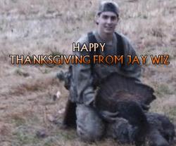 "Jay ""Stuffing"" His Turkey"