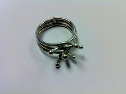 Sterling Adjustable Ring
