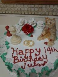 Breaking Dawn Birthday Cake