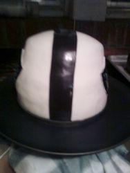 Raiders NFL Helmet Cake