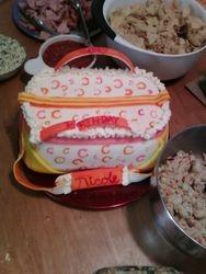 Coach Gym Bag Cake