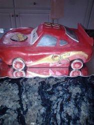 Cars 1 cake