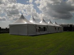 6x27m chinese hat marquee