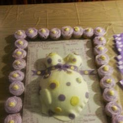 Baby Belly Baby Shower Cake