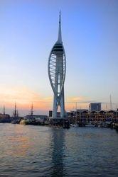Evening tower