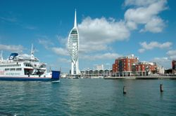 The Tower and Isle of Wight ferry