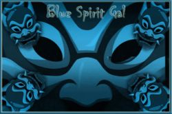 My first fan made bluespiritgal wallpaper