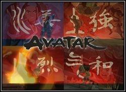 """""""Water, Earth, Fire, Air - Avatar"""" by BSG"""
