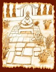 Aang's memories with Gyatso