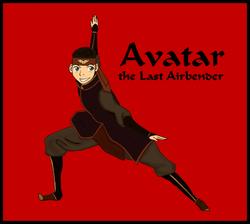 Aang's new look by BSG