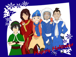 Happy Holidays from the Gaang by BSG