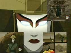 """Avatar Kyoshi"" by Alan Jones @  sirflirts0lot@hotmail.com"