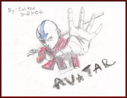 Aang by Colton