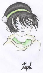 Toph by Water Spirit
