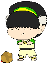 Toph Christmas Gif by TREarthWindSpirit