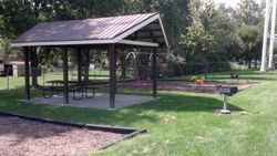 Goodrich Park Pavilion and Swings