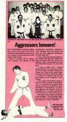 Aggressors Beware!