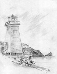 Sandpoint light house