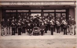 BUDE TOWN PRIZE BAND 1949