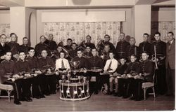 BUDE TOWN BAND 1951