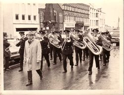 BUDE TOWN BAND 1974