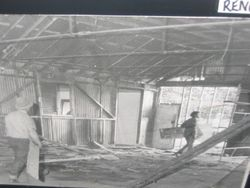 BAND HALL RENOVATION 1972