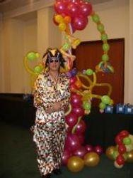 Balloon Sculpting Clown