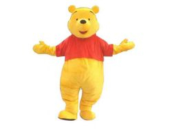 Winnie the Pooh Mascot