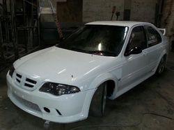 Freshly painted for 2013 season MGZS Race Car