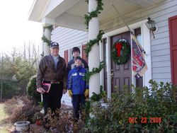 Granddad takes Andrew/Matthew to Washington's boyhood home
