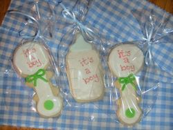 baby cookie favors