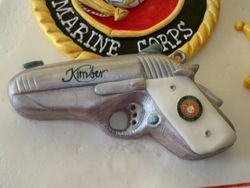 Kimber gun with ivory grips