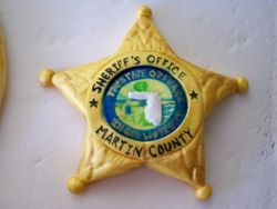 Martin county badge